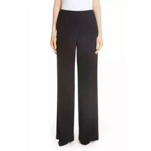 THEORY Black Straight Leg Dress Pants